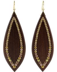 Mark Davis - Wood Earrings - Lyst