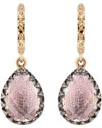 Larkspur & Hawk - Lady Jane Small Pear Drop Earrings - Lyst