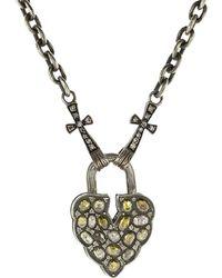 Sevan Biçakci - Aspen Leaf Fancy Diamond Padlock - Lyst