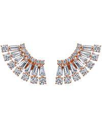 Anita Ko - Floating Ava Diamond Earrings - Lyst
