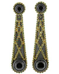 Todd Reed - Black Diamond Earrings - Lyst