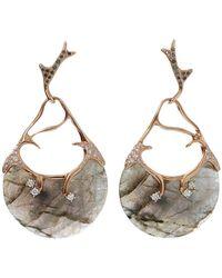 Federica Rettore - Gea Labradorite Earrings - Lyst