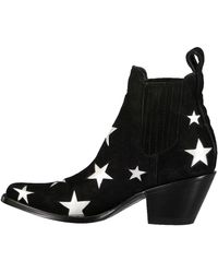 Mexicana - Silver Stars Leather Circus Boot - Lyst