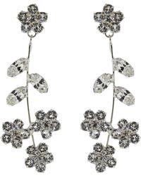 Jennifer Behr - Crystal Violet Dangle Earrings - Lyst