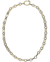 Nancy Newberg - Black Diamond Oval Link Necklace - Lyst
