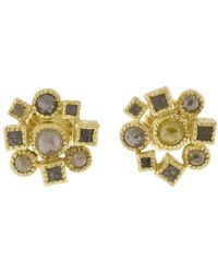 Todd Reed - Cube Cluster Stud Earrings - Lyst