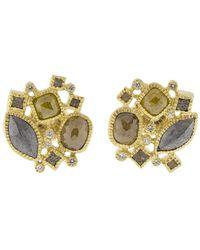 Todd Reed - Cluster Stud Earrings - Lyst
