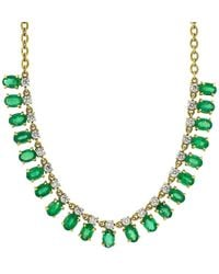 Irene Neuwirth - Faceted Emerald Necklace - Lyst