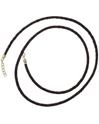 Pamela Huizenga - Long Leather Necklace - Lyst