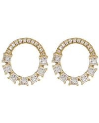 Dana Rebecca | Sadie Pearl Diamond Earrings | Lyst