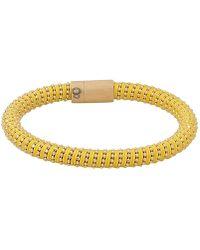 Carolina Bucci - Yellow Twister Band Bracelet - Lyst