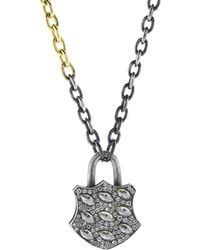 Sevan Biçakci - Medium Diamond Lock Pendant - Lyst