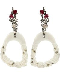 Bochic - Hand Carved Mammoth Earrings - Lyst