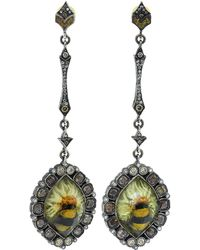 Sevan Biçakci | Bumble Bee On Sunflower Earrings | Lyst
