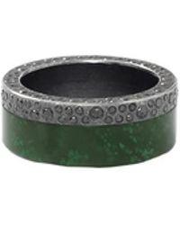 Todd Reed - Green Jade Ring - Lyst