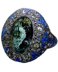 Sevan Biçakci - Carved Seahorse Ring - Lyst