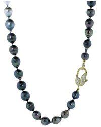 Jordan Alexander - Graduate Ombre South Sea And Tahitian Pearl Necklace - Lyst