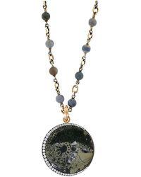 Sylva & Cie - Ammonite Moon Pendant - Lyst