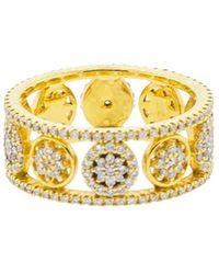 Buddha Mama - Mandala Double Band Ring - Lyst