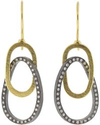 Todd Reed - Circle Drop Earrings - Lyst