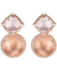 Larkspur & Hawk - Sadie Cushion Earrings - Lyst