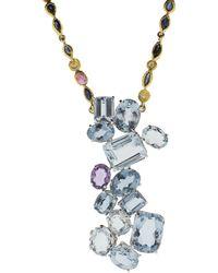 Boaz Kashi - Aquamarine Necklace - Lyst