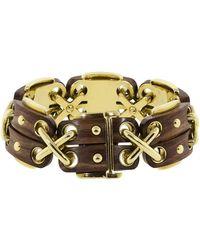 David Webb - Rosewood Cross Stitch Bracelet - Lyst