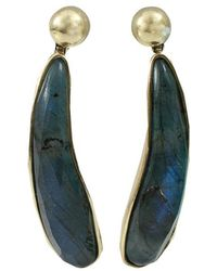 Vaubel | Fat Tear Stone Drop Earrings | Lyst