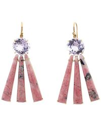 Irene Neuwirth - Kunzite And Pink Opal Earrings - Lyst
