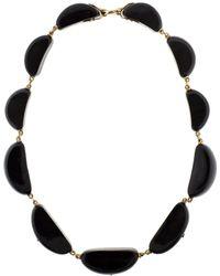 Federica Rettore - Melange Black Zebu Horn Necklace - Lyst