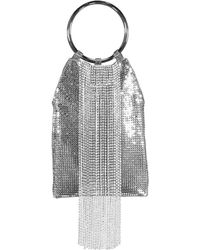 Whiting & Davis - Crystal Fringe Bracelet Bag - Lyst