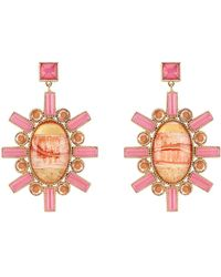 Larkspur & Hawk - Cora Large Chandelier Earrings - Lyst