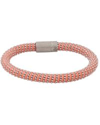 Carolina Bucci - Peach Twister Band Bracelet - Lyst