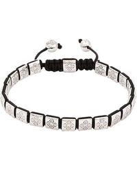 Shamballa Jewels - Diamond Lock Bracelet - Lyst