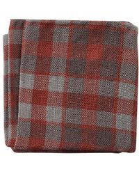 Brunello Cucinelli - Country Plaid Pocket Square - Lyst