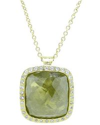Todd Reed - Green And Yellow Fancy Diamond Pendant Necklace - Lyst