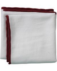Brunello Cucinelli - Piped Trim Pocket Square - Lyst