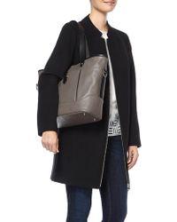 Marks & Spencer - Leather Contrast Trim Shopper Bag - Lyst
