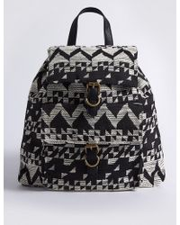 Marks & Spencer - Jacquard Backpack - Lyst