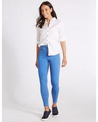 Marks & Spencer - High Waist Super Skinny Jeans - Lyst