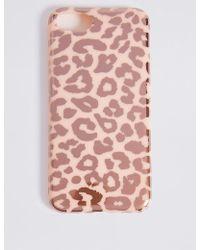 Marks & Spencer - Iphone 7 Animal Print Phone Case - Lyst