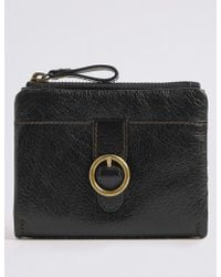 Marks & Spencer - Leather Medium Purse - Lyst