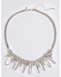 Marks & Spencer - Charm Shaped Collar Necklace - Lyst