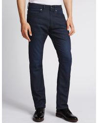 Marks & Spencer - Slim Fit Stretch Jeans - Lyst