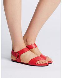 Marks & Spencer - Elastic Ring Detail Sandals - Lyst