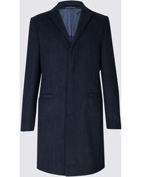 Marks & Spencer - Revere Coat - Lyst