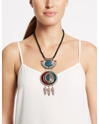 Marks & Spencer - Tiered Stone Statement Necklace - Lyst