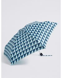 Marks & Spencer - Spotted Compact Umbrella With Stormweartm - Lyst