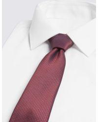 Marks & Spencer - Textured Tie - Lyst