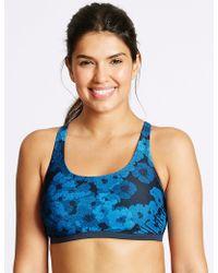 Marks & Spencer - Swim To Gym Bikini Top - Lyst